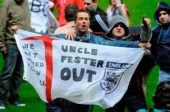 Blackburn Rovers; Blackburn Rovers fans; Venkys; Steve Kean