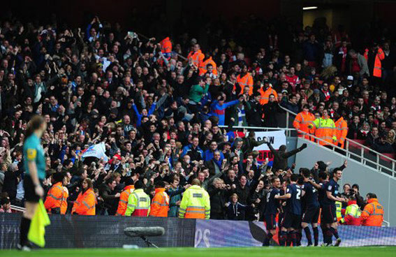 Blackburn Rovers; Arsenal; Blackburn Rovers fans