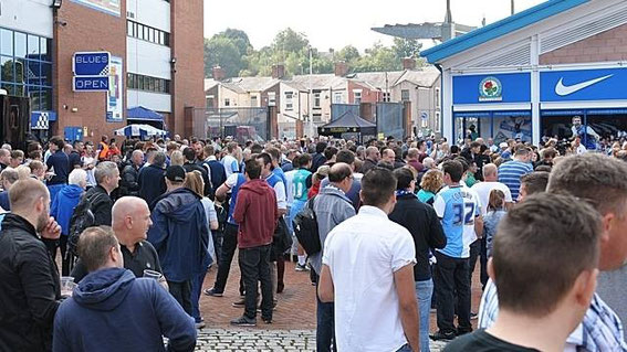 Blackburn Rovers; Ewood Park; Blackburn Rovers fans