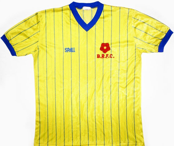 Worn when the side finished 12th place in the Second Division under boss Don Mackay.