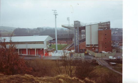 Blackburn Rovers; Ewood Park; Blackburn Rovers; The Blackburn End