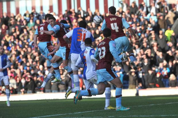 Sunday, 2nd December 2012. Championship, Burnley 1 - 1 Rovers. Attendance: 21,341.