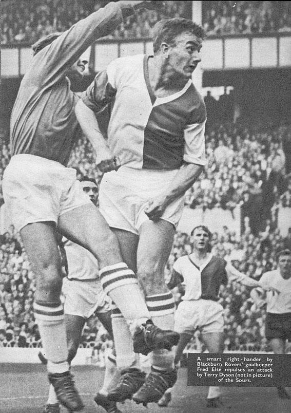 Tottenham Hotspurs v Rovers, 1962.