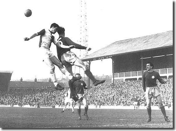 Rovers v Leeds United, 1964.