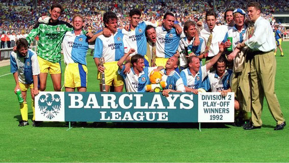 Blackburn Rovers Play Off Winners 1992