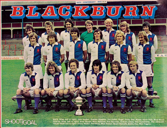 Blackburn Rovers; Blackburn Rovers 1975.
