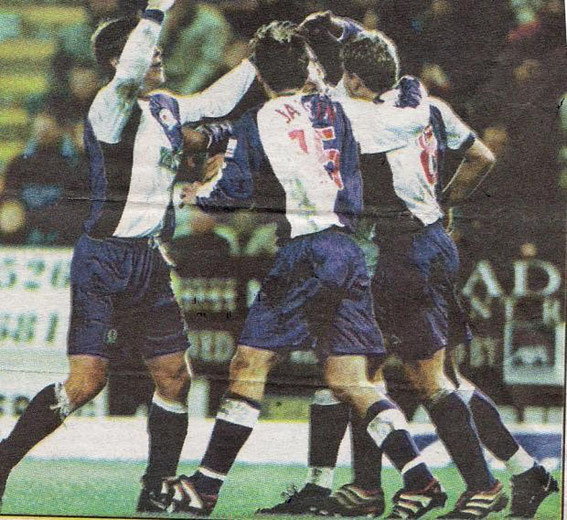 Sunday, 17th December 2000. Division 1, Burnley 0 - 2 Rovers. Attendance: 21,369.
