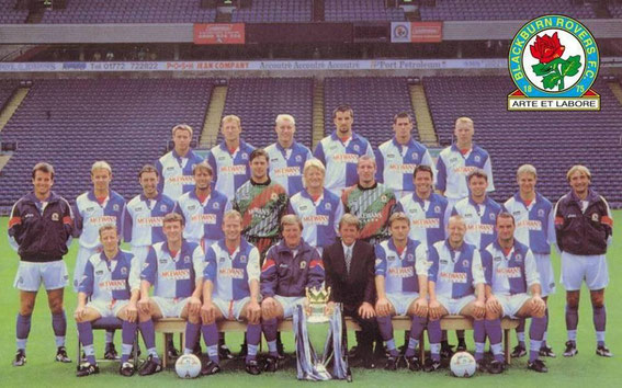 Blackburn Rovers: Premier League and Premier League Champions, 1994-1995 squad.