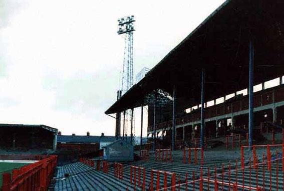Ewood Park; Blackburn Rovers; The Riverside stand