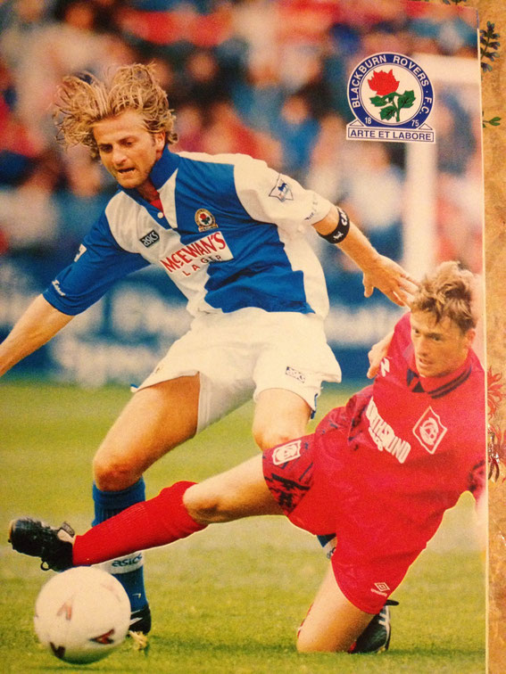Captain Tim Sherwood, 1994 pre season friendly v Aberdeen.