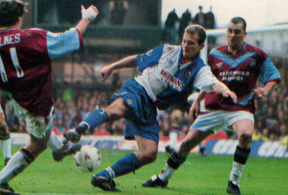 West Ham  Blackburn Rovers 1994-1995