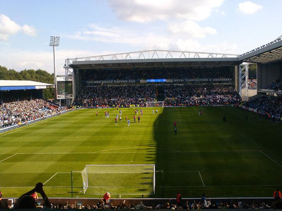 Blackburn Rovers; Ewood Park; The Brian Douglas Darwen End; Brian Douglas; Blackburn Rovers fans