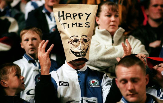 Blackburn Rovers; Blackburn Rovers fans.