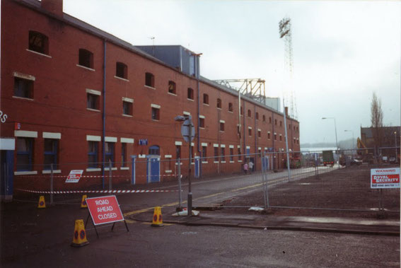 The Nuttall Street Stand.