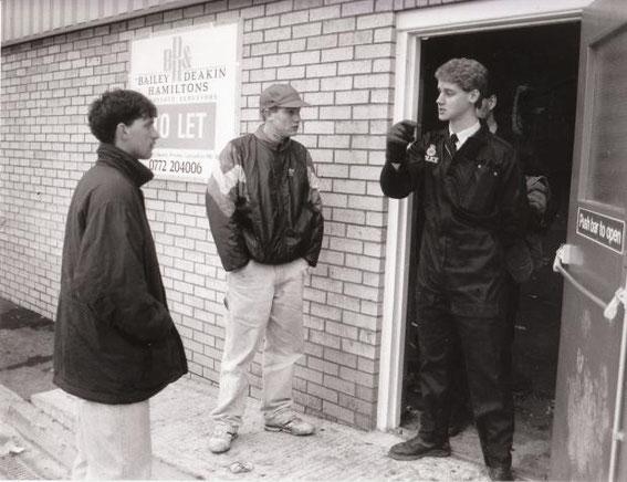 Near Blackburn, 1990.