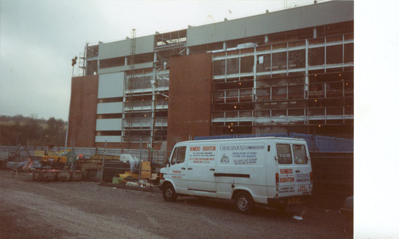 The Blackburn End reconstruction, 1994.