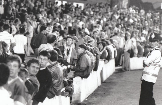 The Nuttall Street (Blackburn End) Enclosure, 1990.
