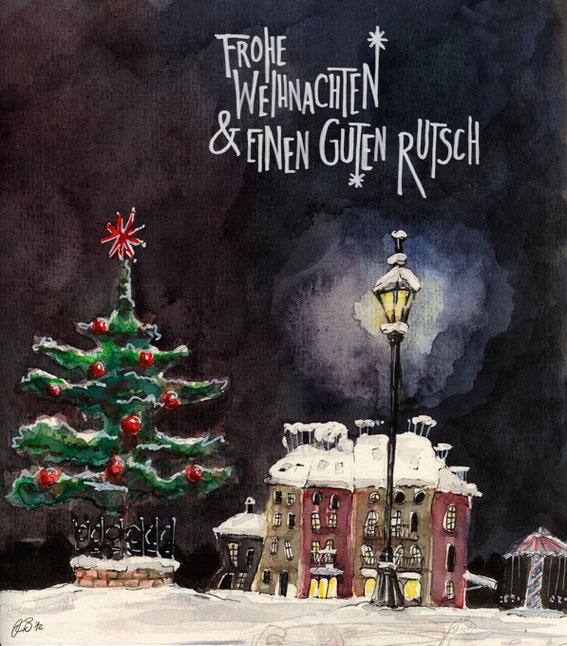Christmas card © Dorothea Blankenhagen 2012