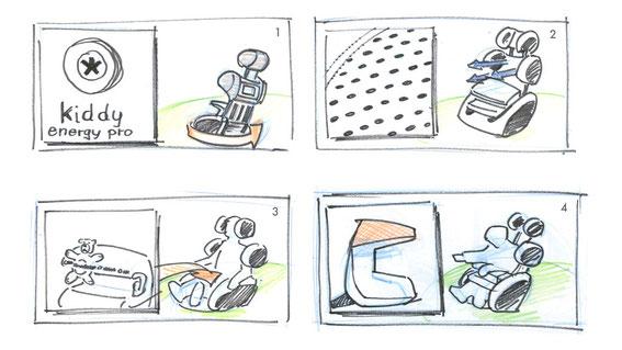 Storyboard  @ Jürgen Blankenhagen 2010