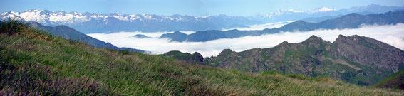 Blick in die Hautes Pyrenées