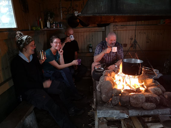Outdoor- und Aktivurlaub Schweden Lappland - Basiscamp Campleben Outdoor in Lappland