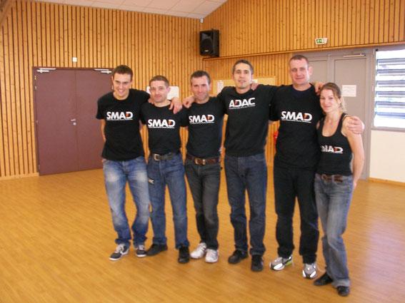 Le SMAD à Vetraz, du Grand Eric Quequet ! Merci à François et toute son équipe pour ce super stage !