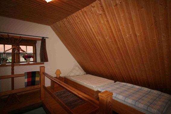 Schlafen unterm Dach