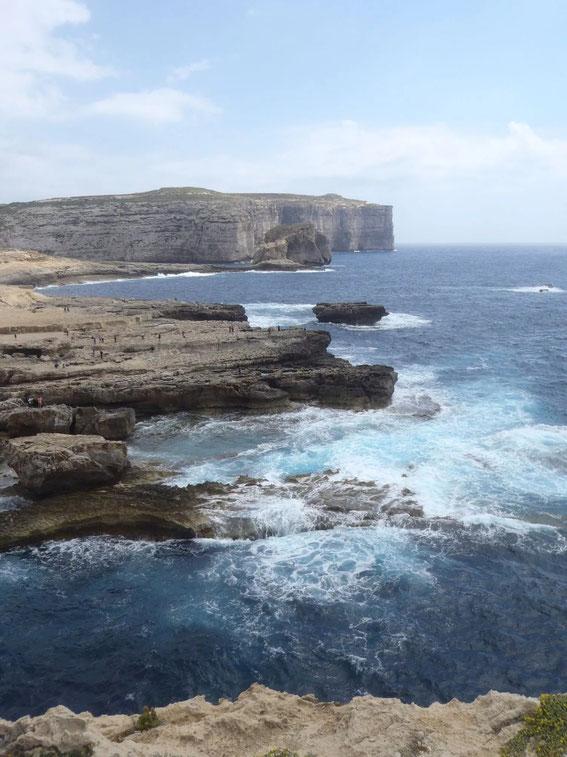 Fungus Rock, Dwejra Bay Gozo, Malta