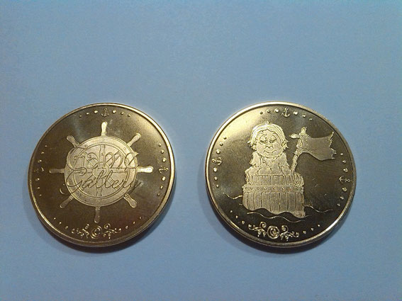 Efteling - coin 1 (front - backside) (on request) €3,00