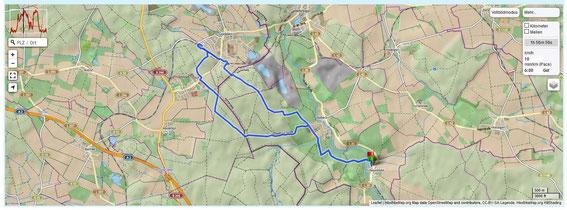 Strecke auf www.GPSies.com - zum Link aufs Bild klicken!