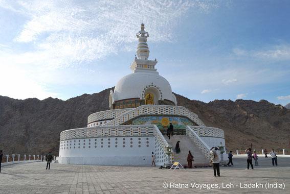 Shanti Stupa, Leh, Ladakh, India, Kalachakra, Dalai Lama, Tibet, Buddha