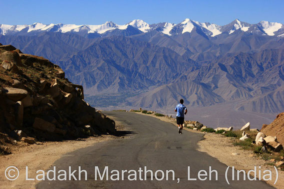 Ladakh Marathon, Khardung-la Challenge, world's highest marathon