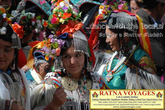 Aryan Festival, Aryan Valley, Ladakh; Himalaya, India: 30-31 Augut 2019