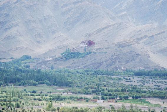 Matho Monastery, view from Stakna
