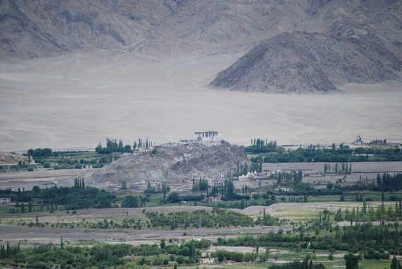 Stakna Monastery, view from Matho