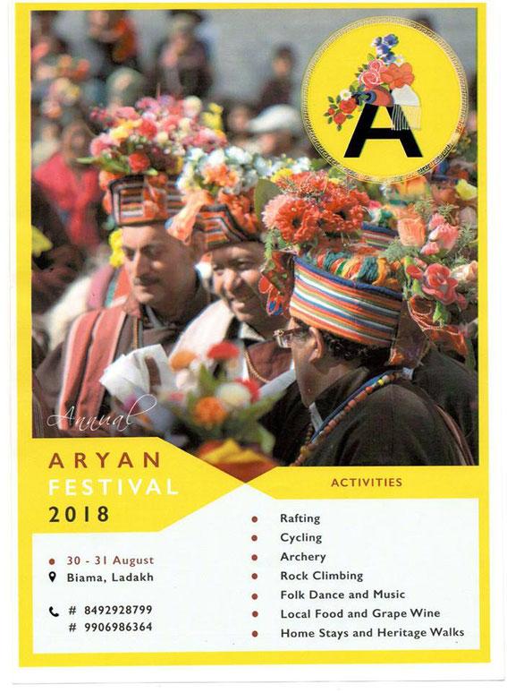 Aryan Festival, Aryan Valley, Ladakh, Himalaya, India