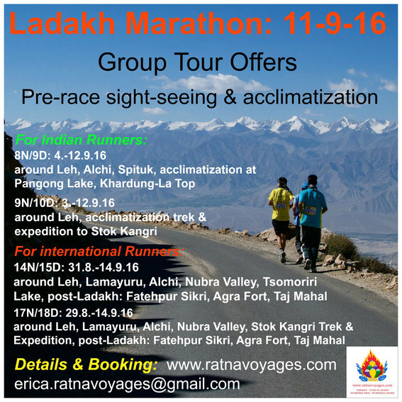 ladakh Marathon: 11th September 2016