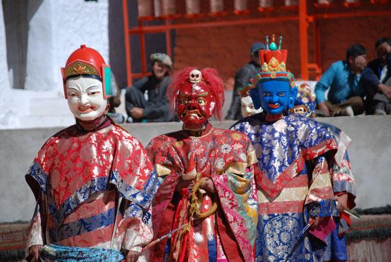 Festivals of Ladakh, Monastic Festivals, Hemis Festival, Mask Dances, Cham