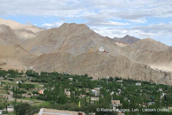 Namgyal Tsemo Gompa, Leh, Ladakh, Shant Stupa