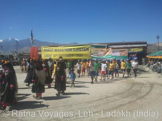 Ladakh Marathon 2014