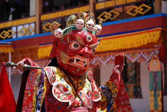 Monastic Festival at Thak-Thok, Mask Dances, Cham Dances