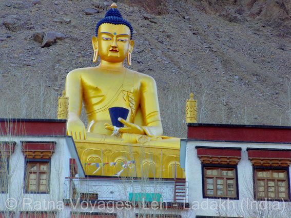 Buddha Statue at Ney, Ladakh, Sham Valley