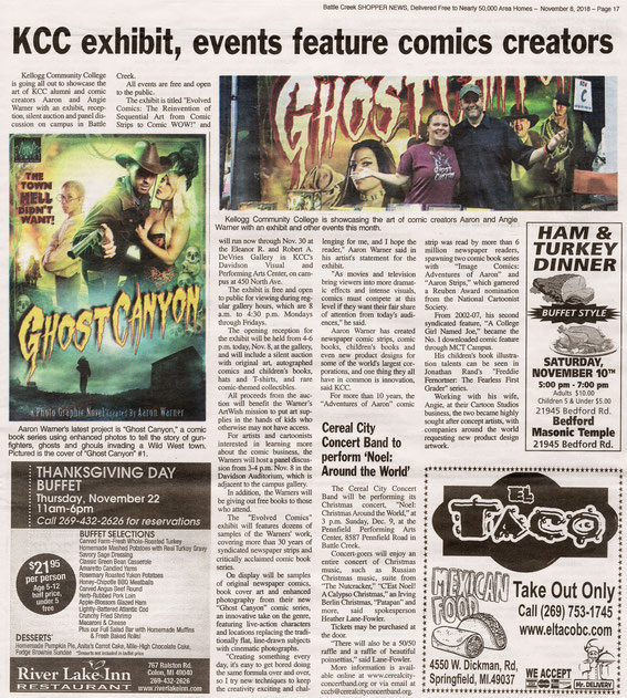In the News - ghostcanyon
