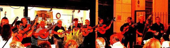 Malaga, Musikanten