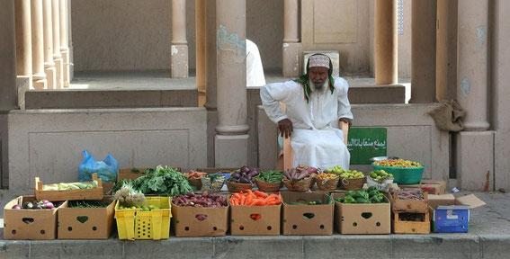 Oman - Straßenverkauf