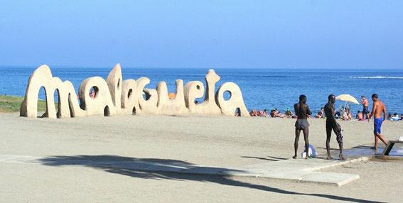 Malaga, Strand