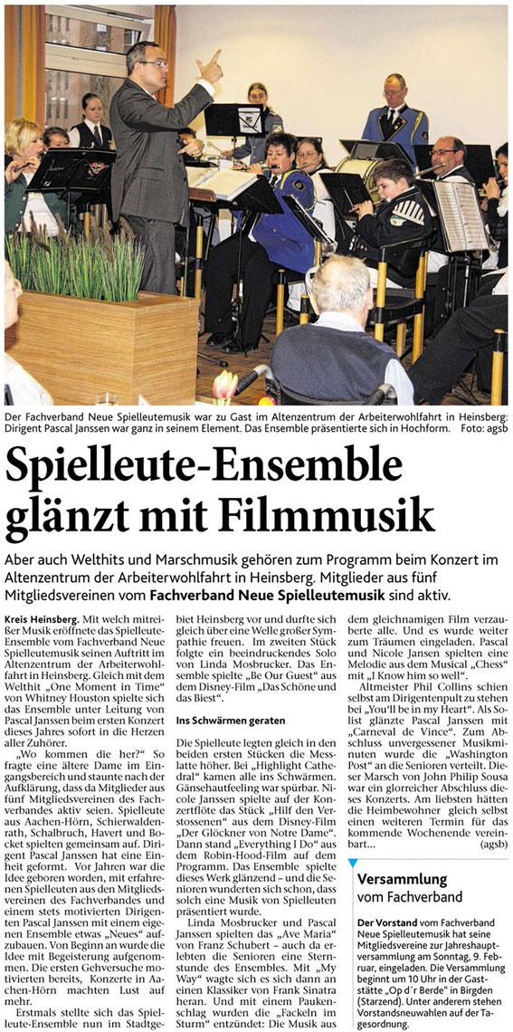 Quelle: Heinsberger Zeitung / Heinsberger Nachrichten