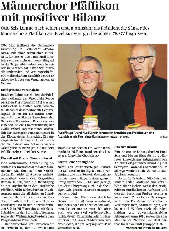 Höfner Volksblatt - 25. Februar 2016