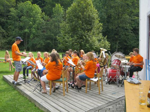 Abschlusskonzert vom Probensemiar in Brunnbach 2013