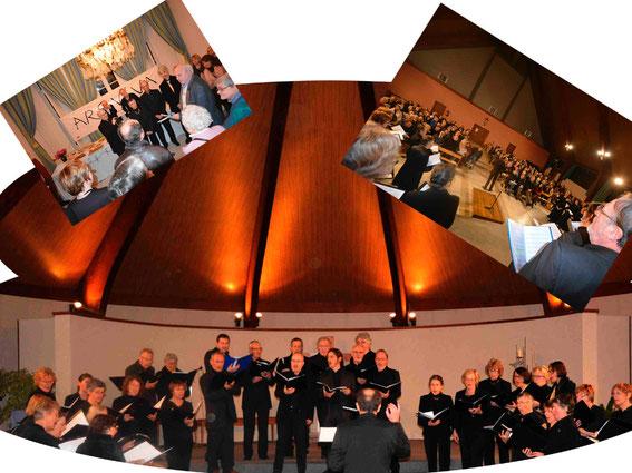14 décembre 2013, concert anniversaire des 40 ans d'Ars Viva